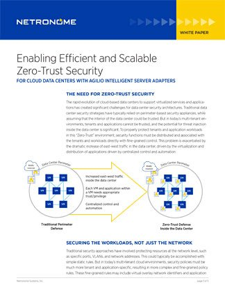 Enabling Efficient and Scalable Zero-Trust Security