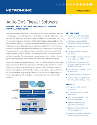 Agilio OVS Firewall Software