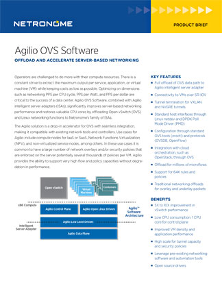 Agilio OVS Software